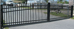 Delgard Commercial Arched Drive Gate