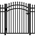 Jerith Aluminum Accent Gate Modified 111