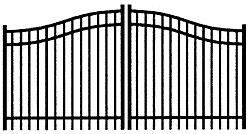 Jerith Aluminum Estate Gate 202