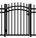 Jerith Aluminum Accent Gate Buckingham