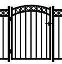 Jerith Aluminum Accent Gate Windsor Plus