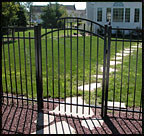 Jerith Aluminum Accent Gate Style 200